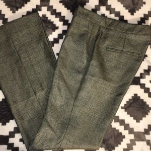 Theory wool blend hadira ginko shimmer pants